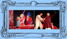 The Punch And Judy theatre perfomance costume photos